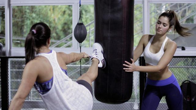 Paulina Vega y Mariana Pajon entrenan juntas
